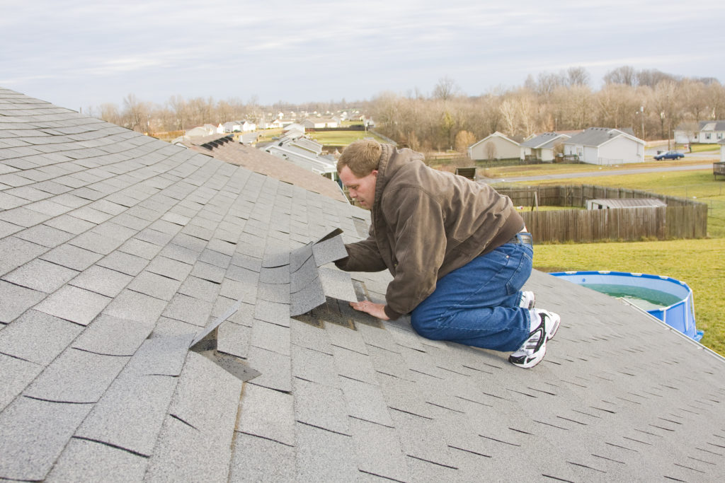 damage to your roof